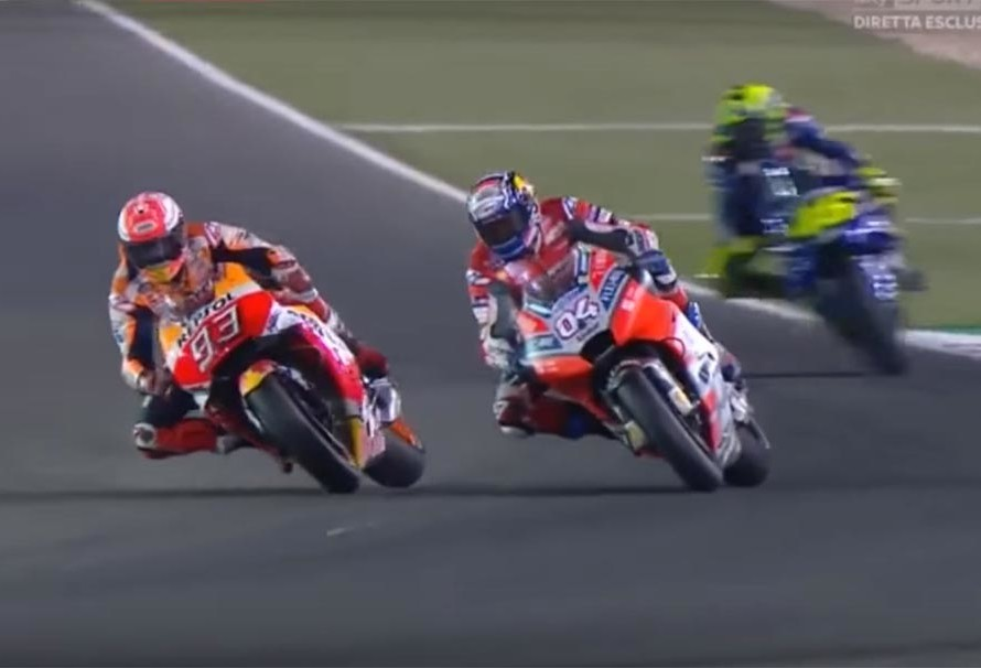 Dovizioso Commented On Marq Marquez Action In Motogp 2018 Qatar