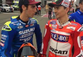 Suzuki Interested in Pairing Lorenzo and Alex Rins in MotoGP 2019