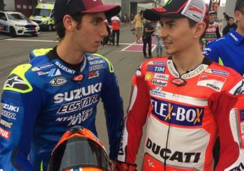 Suzuki Interested in Pairing Lorenzo and Alex Rins in MotoGP 2019