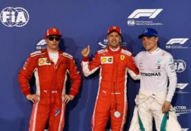 F1 GP Bahrain 2018 Qualifying Results