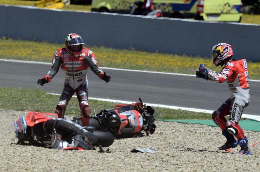 Lorenzo Do Not Want to Blame Anyone on Domino Accident at Jerez