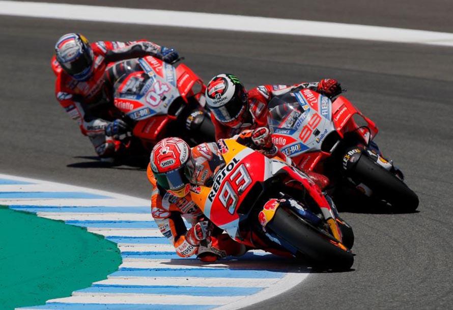 2018 Jerez MotoGP Race Results