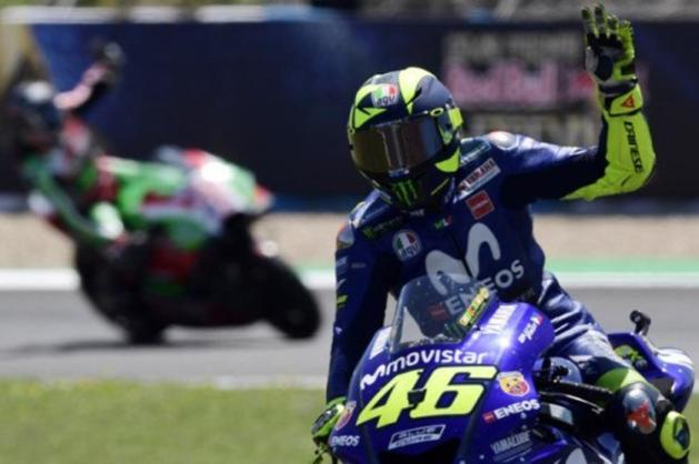 Failed to Achieve Podium in Jerez, Here's Rossi's Reaction