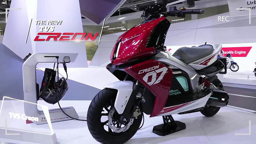 TVS Creon, Electric Scooter with Rich Features and Reversible