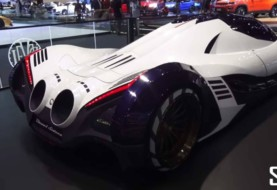 """Crazy! Here's The Real Face of """"Hypercar"""" Devel Sixteen 5000 Hp"""