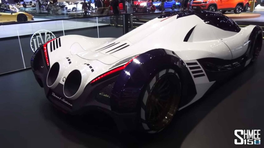 "Crazy! Here's The Real Face of ""Hypercar"" Devel Sixteen 5000 Hp"