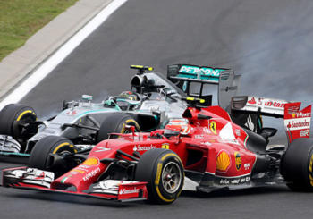 Vettel: Ferrari is in the Process of Overthrowing Mercedes