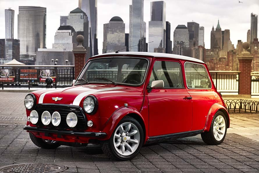 Old MINI Mr. Bean is Now an Electric Car