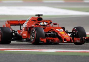 F1 2018 GP Bahrain Race Results