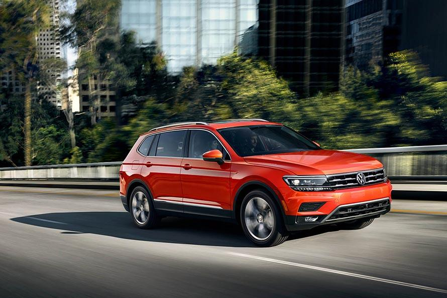 2018 Volkswagen Tiguan: The New King of the Concrete Jungle