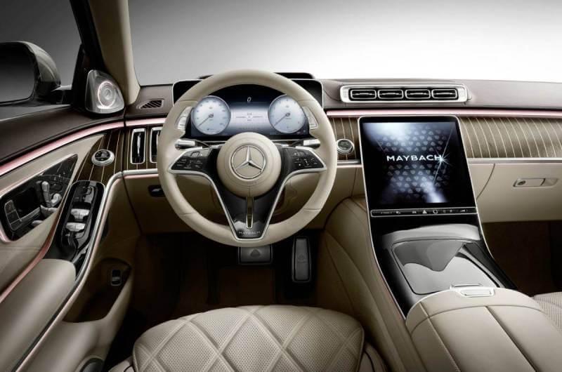 Mercedes Benz Maybach S-Class Interior