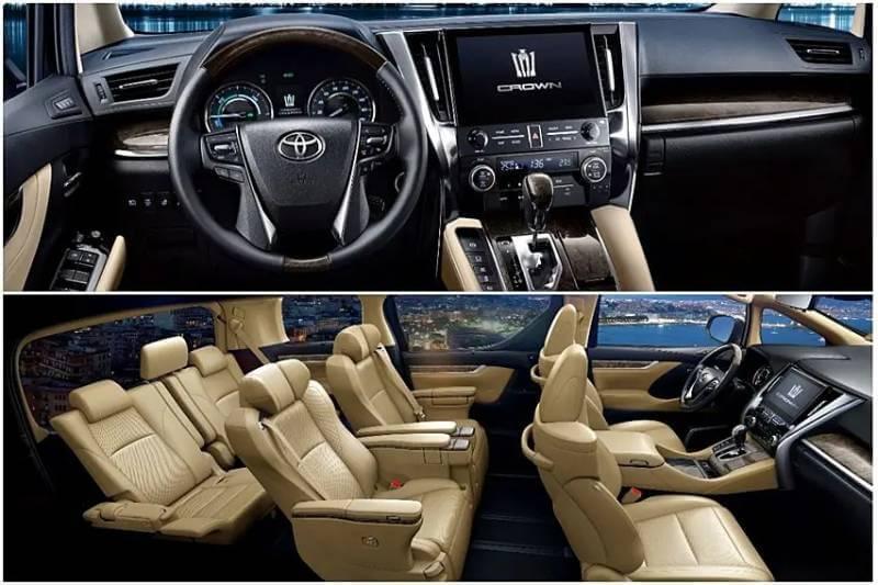Toyota Vellfire Crown