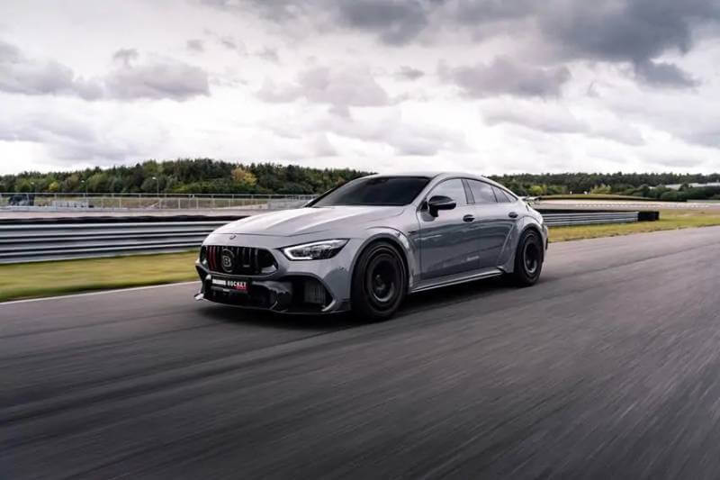 Brabus Rocket 900 based on the mercedes amg gt63s2
